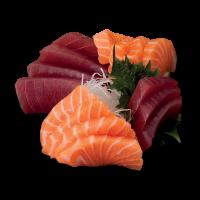 Sashimi Mixto atún y salmón