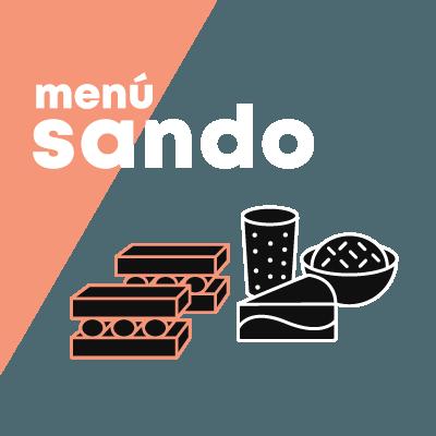 Menú Sando